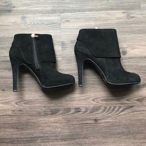Suede Jessica Simpson booties